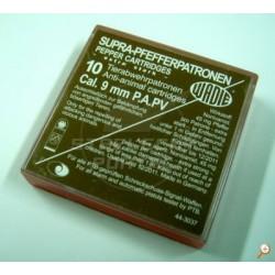 Pepřová nábojka Wadie 9mm P.A.- 10ks