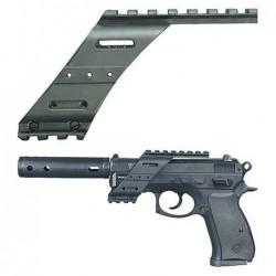 Pistole CZ 75D Compact - rail montáž