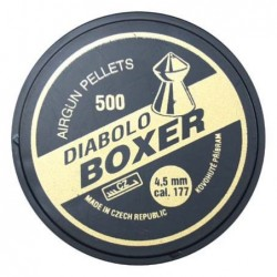 Diabolky Boxer 500ks, 4,5mm (.177)