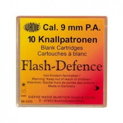 Nábojka 9mm P.A. Flash-Defence -...