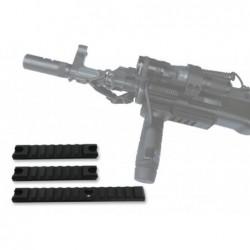 MIL-STD-1913 1x 155 mm + 2x 98 mm...