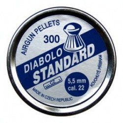 Diabolky Standard 300ks, 5,5mm (.22)