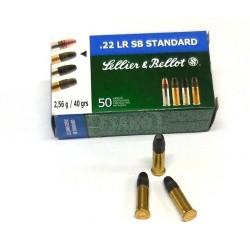 Náboje .22LR Standard, S&B,...