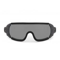 Tmavě šedá skla bro brýle...