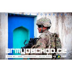 Voucher Armyobchod - 5000 Kč
