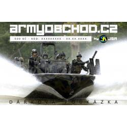 Voucher Armyobchod - 500 Kč