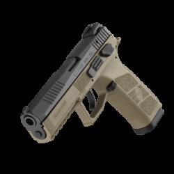 Pistole CZ P-09 T r. 9x19 (tritium) s barvou rámu FLAT DARK EARTH
