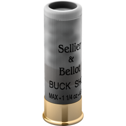 S&B Buck Shot, 12/70, 7.6mm, 36g...