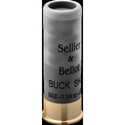 S&B Buck Shot, 12/70, 7.6mm, 36g...