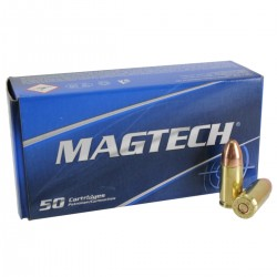 Magtech 9 mm Luger 124 grs FMJ -...