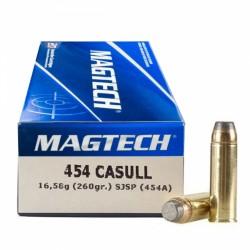 Magtech .454 Casull 260 grs SJSP...