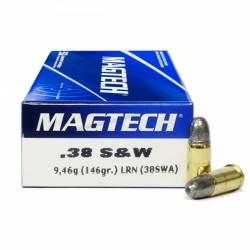 Magtech .38 SW 146 grs LRN - 50ks