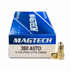 Magtech 9 mm Browning 95 grs FMJ...