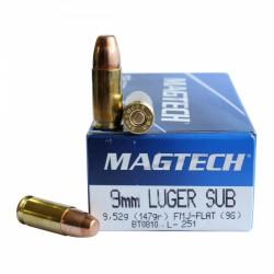 Magtech 9 mm Luger 147 grs FMJ...