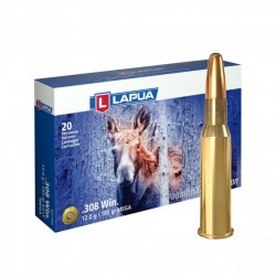 Lapua 308 Win 185 grs SP Mega - 20ks