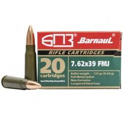 Střelivo Barnaul 7,62x39 FMJ 123 GRS