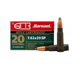 Střelivo Barnaul 7,62x39 SP 125 GRS