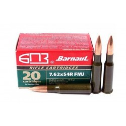 Střelivo Barnaul 7,62x54R FMJ 174...