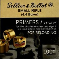 Zápalky Sellier Bellot 4,4 SR Boxer