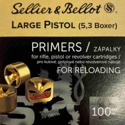 Zápalky Sellier Bellot 5,3 LP Boxer
