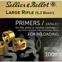 Zápalky Sellier Bellot 5,3 LR Boxer